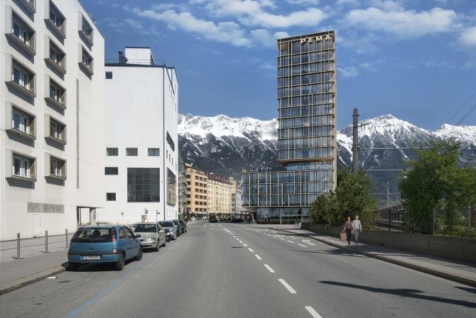 Pema 3 innsbruck alois zierl architekt for Architektur innsbruck